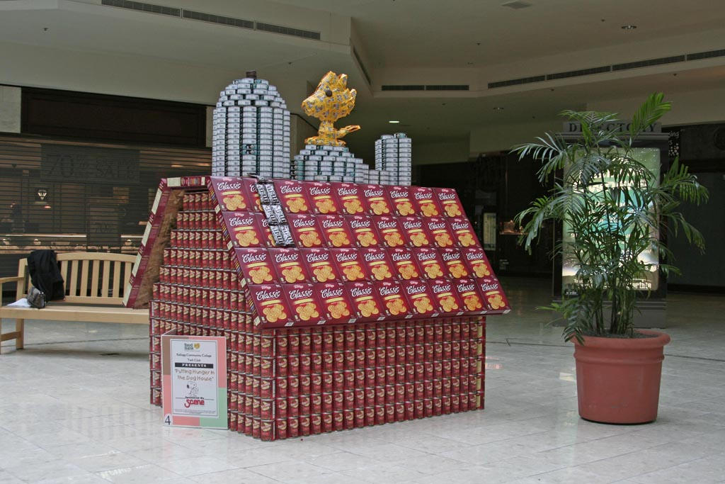 How To Make Canned Food Sculptures